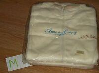 Anne De Lancayivory Fleece Zip Jacket & Pants Set-lounge Suit/pajamas-m