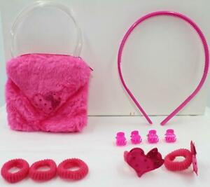Baby-Hair-Bands-Hair-Clip-Hairpin-Pony-Coin-Purse-11pcs-Set-Girl-Kids-Party-Gift