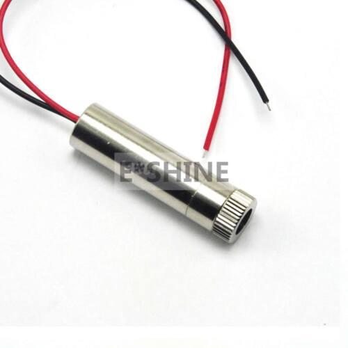 Fokussierbares justierbares 808nm 200mw Punkt//Linie//Querlaser-Modul w Kühlkörper