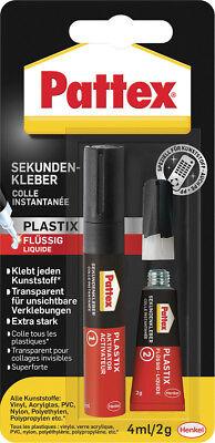 Psa1c Gut FüR Energie Und Die Milz Pattex Blitz Plastik 4/2gr Kleber Baustoffe & Holz