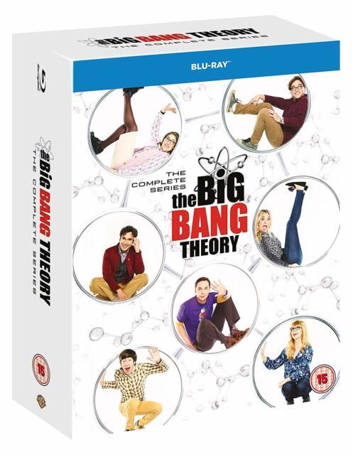 The Big Bang Theory - The Complete Series (Blu-ray) BRAND NEW!! Season 1-12