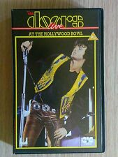 THE DOORS - LIVE AT THE HOLLYWOOD BOWL - VIDEOCASSETTA VHS VIDEOTAPE