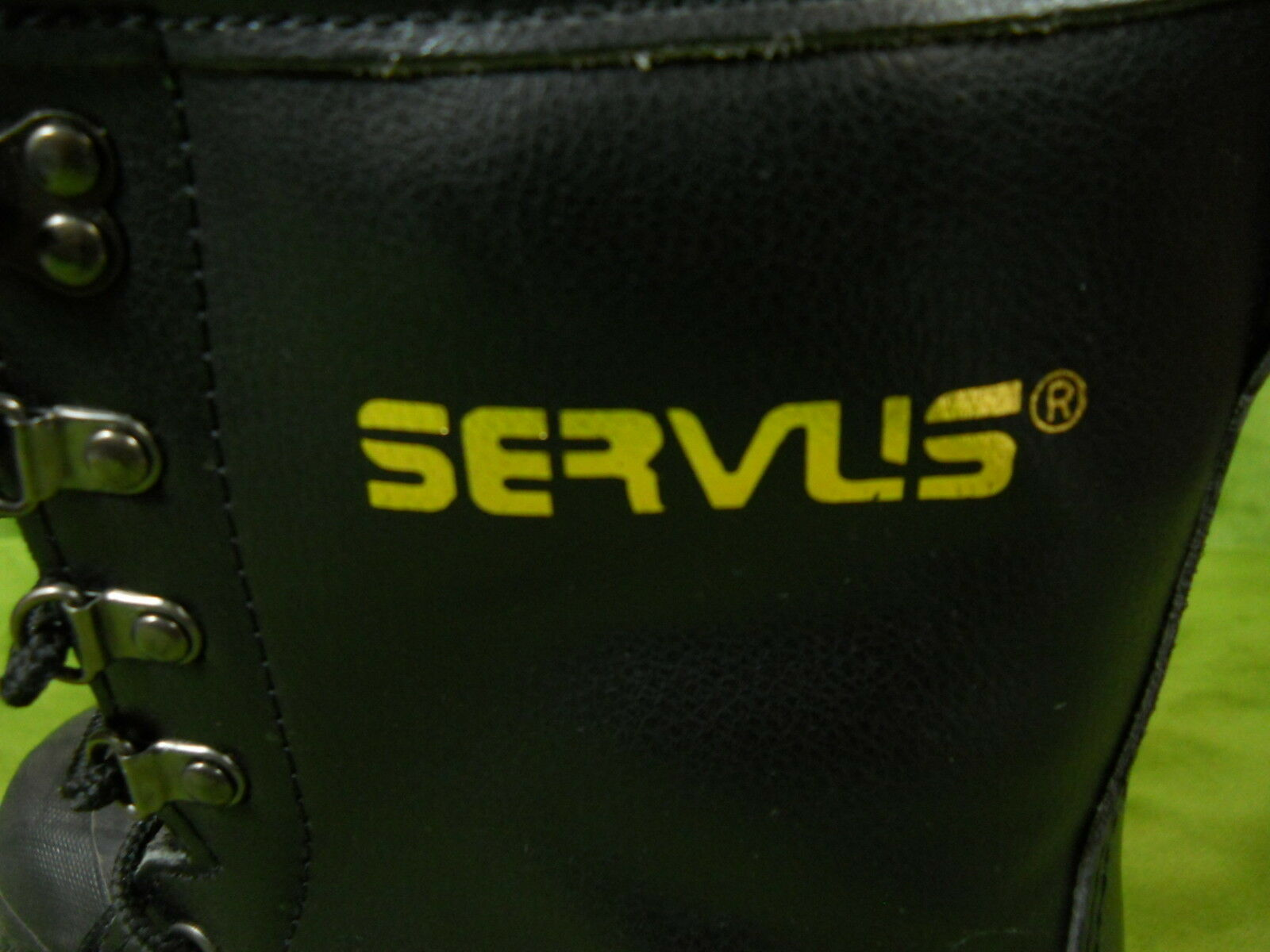 Servus Botas 7 para hombre 7 Botas Negro aislados vástago de acero de trabajo de seguridad contra incendios 424546