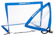 ERHARD® SPORT Soccer Goal POP UP, 2 Tore für Freizeit - Beach - Garten...
