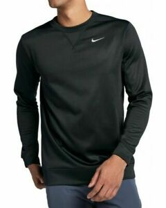 Nike-Crewneck-Sweater-Sweatshirt-Therma-Black-AH8493-010-Golf-Tiger-Woods