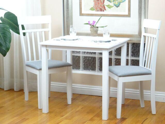 Tall Table Stools Set Farm Style Dining
