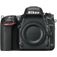 Nikon D750 DSLR 24.3MP HD 1080p FX-Format Digital SLR Camera (Body) -Refurbished