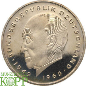 Aa1165 Brd 2 Mark 1979 Konrad Adenauer D J Nach Wahl Ebay