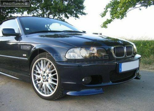 BMW E46 Clubsport Front Bumper Lip Spoiler Splitter M Sport Tech Mpack club