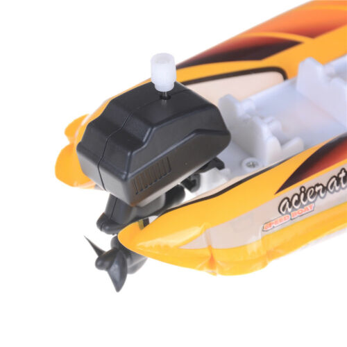 Kids Children Inflatable Wind Up Speedboat Boat Pool Bath Toy Classic Toys Vb