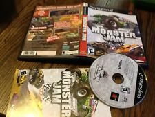 Monster Jam (Sony PlayStation 2, 2007) USED AWESOME FUN FREE US SHIPPING
