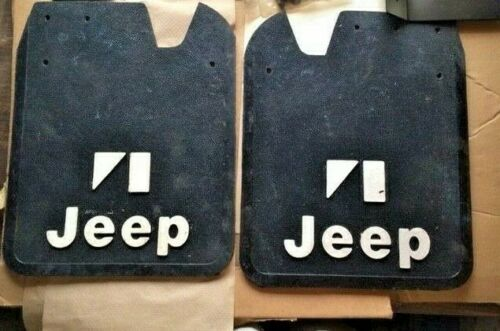 NEVER-USED-JEEP-COMANCHE-amp-OTHERS-REAR-MUDGUARDS-SEE-PICTURES-FOR-WHATS-INCLUDED