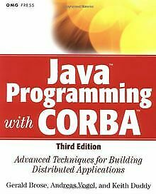 Java Programming with CORBA: Advanced Techniques for Bui... | Buch | Zustand gut