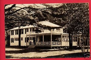 RPPC-QUEBEC-CANADA-1933-ADIRONDACKS-NY-LARGE-HOUSE-WITH-PORCH-RP-POSTCARD