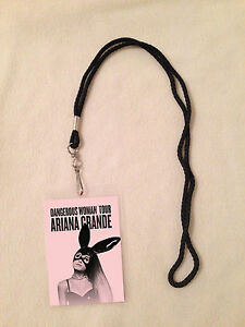 Ariana Grande Vip Laminate Dangerous Woman Tour