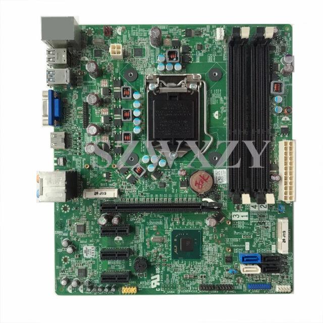 For DELL XPS 8500 Desktop Motherboard MainBoard DH77M01 CN-0YJPT1 YJPT1 LGA1155