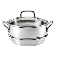 Calphalon Stainless Steel Universal Steamer Insert With Lid Kitchen Cookware