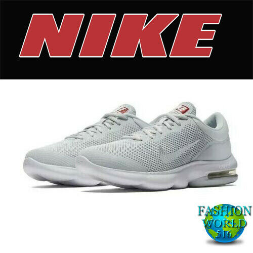 Nike Air Max Advantage Running Shoes 908981 006 Pure Platinum White Grey Size 12