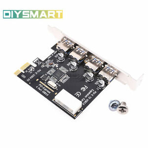 4-Port-PCI-E-to-USB-3-0-HUB-PCI-Express-Expansion-Card-Adapter-5-Gbps-Speed-Top