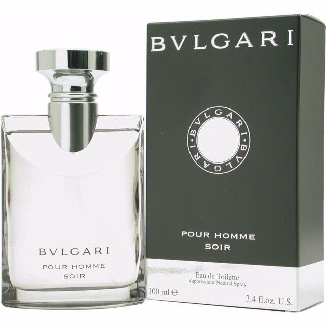 Bvlgari Pour Homme Soir Cologne for Men 100ml EDT Spray