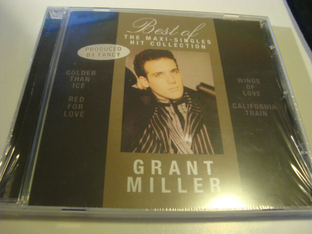 RAR CD. GRANT MILLER. BEST. THE MAXI-SINGLES HIT COLLECTION . SEALED. ITALO
