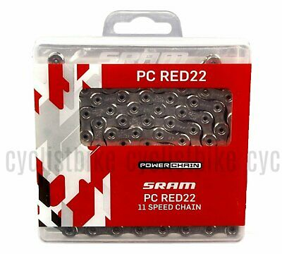 Silver SRAM PC-RED22  11 Speed Chain 114 Link