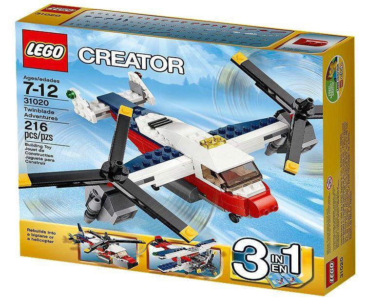 LEGO® Creator 31020 Flugzeug Abenteuer NEU OVP Twinblade Adventures NEW MISB