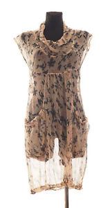 Masai-Women-039-s-Floral-sleeveless-Dress-Size-Medium