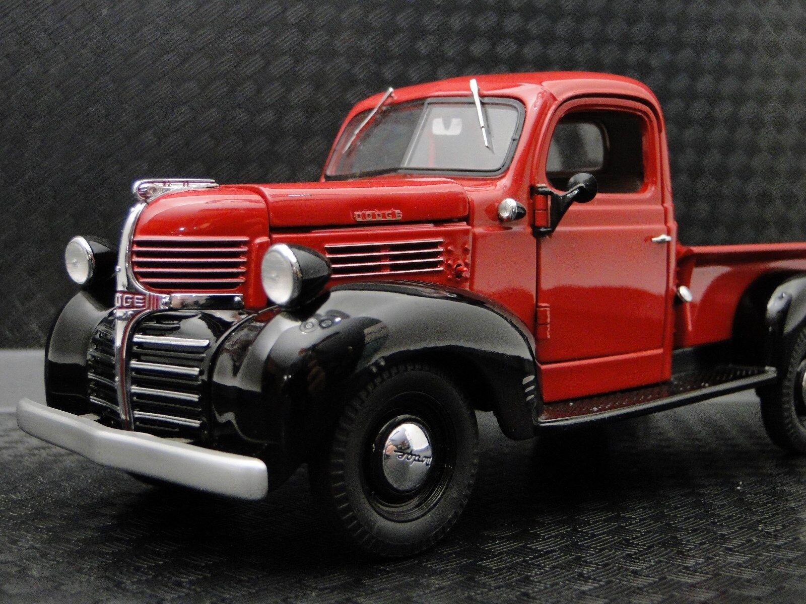Dodge 1 camioneta 1940s Deporte construido 12 Vintage Modelo 18 carrusel rosso 24 coche