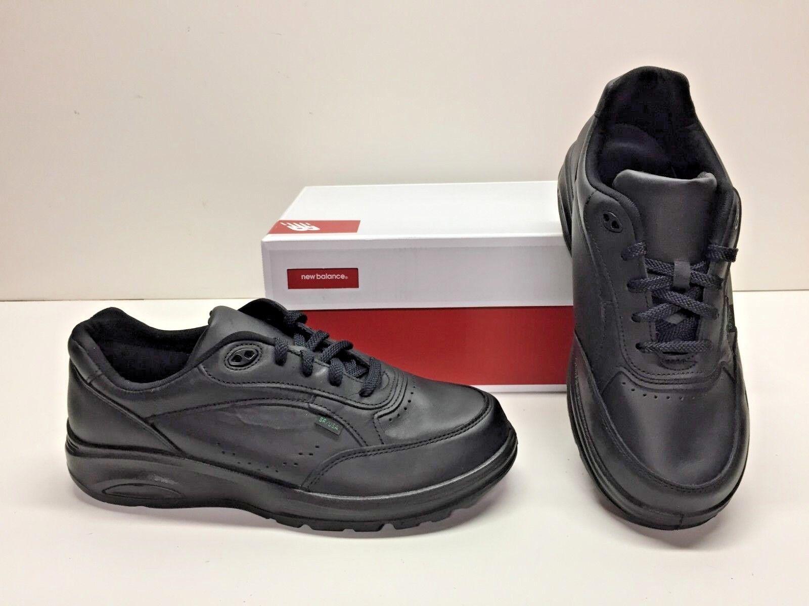 New Balance 706V2 Black US Postal Leather Walking shoes Mens 8.5 4E Extra Wide