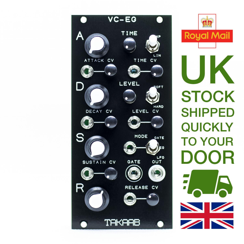 Takaab VC-EG Voltage Controlled Looping ADSR Envelope Eurorack Module FAST&FREE