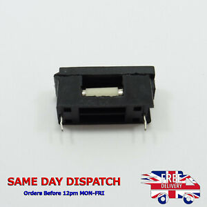 100Pcs PCB Mounting 5*20mm Fuse Holder Clips Quick Fast Blow Fuses Holder AS