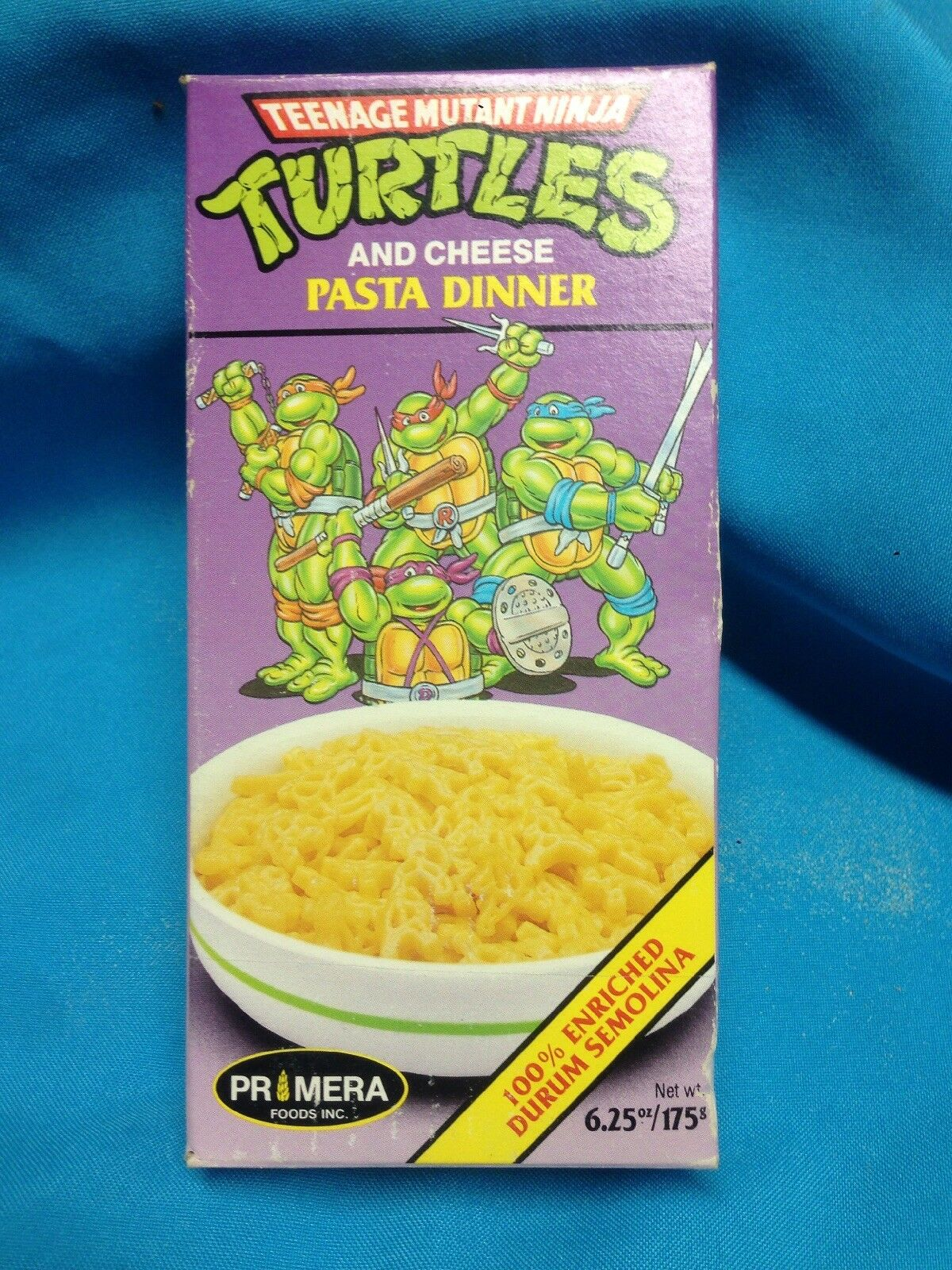 1990.SEALED.TMNT. Teenage Mutant Ninja Turtles. Pasta Dinner & Cheese MAC&Chees