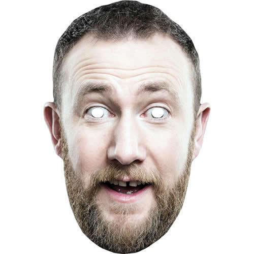 Alex Horne Celebrity Taskmaster Card Face Mask All Masks Are Pre Cut***