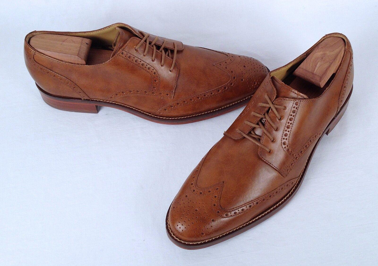 NEW!! Cole Haan Wingtip Oxford British Tan Size 11.5 M   (Z1) Scarpe classiche da uomo