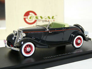Esval-EMUS43074A-1-43-1933-Ford-Model-40-Roadster-Resin-Model-Car