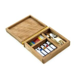 Miniature-Artist-Paint-Pen-Wooden-Box-Model-Toys-For-1-12-Dollhouse-Accessory