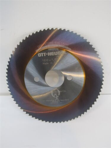 OTT Heugel 166mm x 1.6mm x 32mm HSS-E TiCN Cold Saw Blade