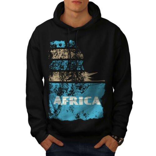 Hooded Country New Hoodie Sweatshirt Casual Wellcoda Black Mens twXqxCdSO