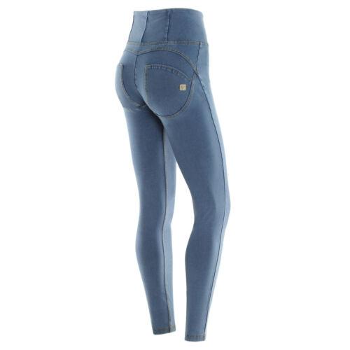 Freddy WR.UP Skinny VITA ALTA WRUP1HJ01E J4//Y COL Jeans CHIARO Cuciture GIALLE