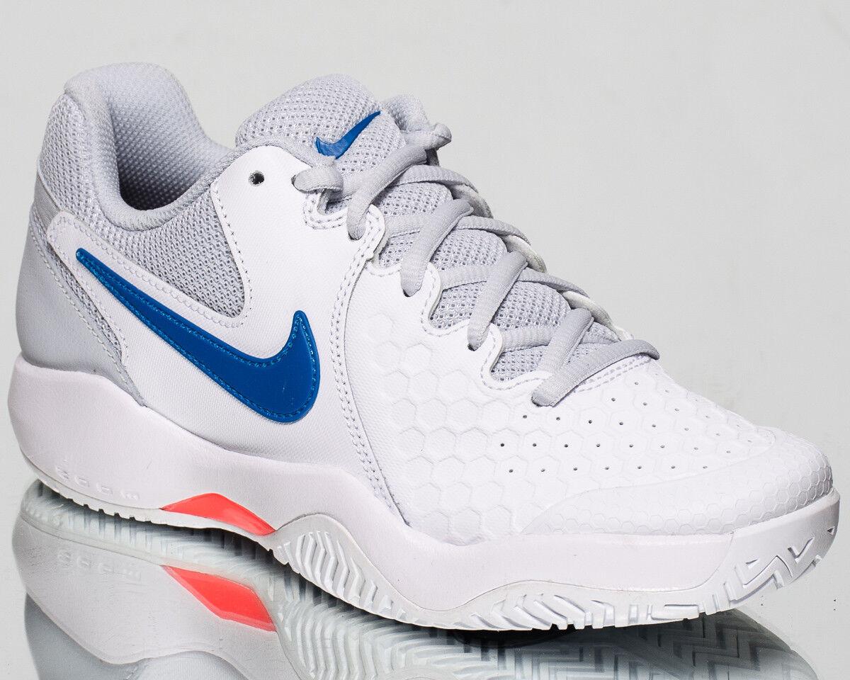Nike Wmns Air Air Air Zoom Resistance women tennis shoes NEW white blue lava 918201-102 5502eb