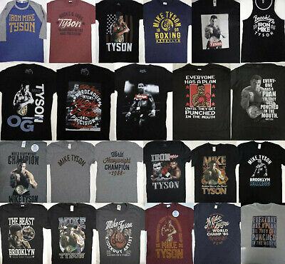 Mike Tyson Iron Heavyweight Champ Official Mens Black T-Shirt