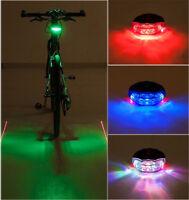 2 Laser 5 LED Flashing Lamp Light Cycle Bike Bicycle Tail Rear Light Lamp Safety