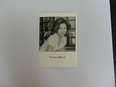 "Television ""general Hospital"" Vanessa Marcil Hand Signed 4.5x6 B&w Photo Todd Mueller Coa"