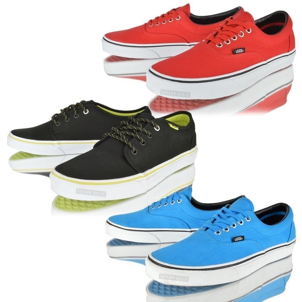 VANS ERA 106 UNISEX VULCANISED LO TOP CANVAS Talla CASUAL SNEAKER TRAINERS Zapatos Talla CANVAS 566430