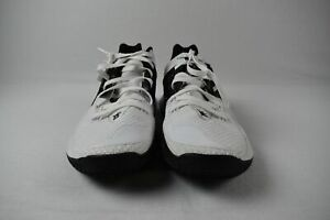 Nike Kyrie Low 2 Basketball Shoes Men's White/Black Used 14