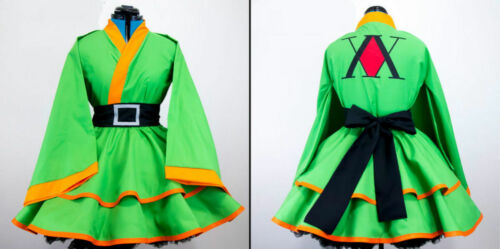 New Gon Hunter x Hunter Cosplay Kimono Dress