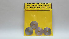 FERRARI 250 GTO - SET OF FOUR BRAKE-DISCS FOR REVELL 1/12 AMG AMT-002 N/ MFH MG