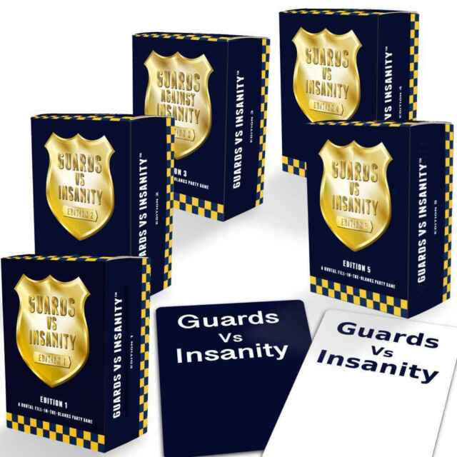 Guards Vs Insanity Ultimate Pack Includes Editions 1,2,3,4 & 5