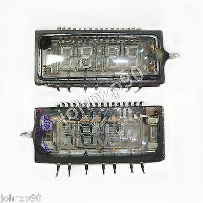 2 x IVL2-7/5 IVL VFD DIGIT CLOCK DISPLAY TUBE GREEN NIXIE Tube New FREE SHIPPING